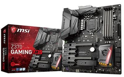 MSI Enthusiast Z370 GAMING M5