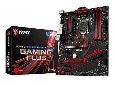 MSI B360 Gaming Plus
