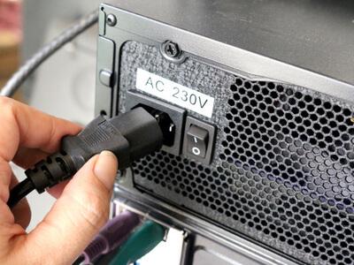 unplug wires