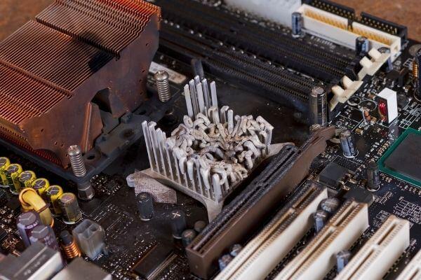 motherboard failure symptom