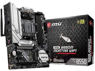 white gaming motherboard